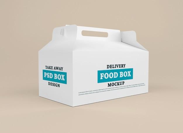 Modello di scatola di consegna Psd Premium