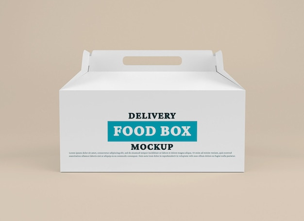 Modello di scatola di consegna