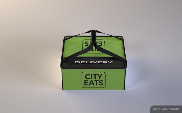Consegna cibo borsa mockup