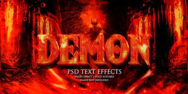Effetto testo demone