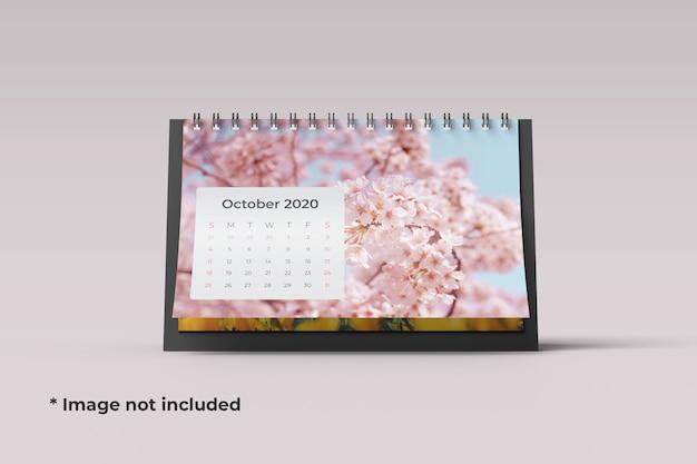 Mockup di calendario da tavolo isolato
