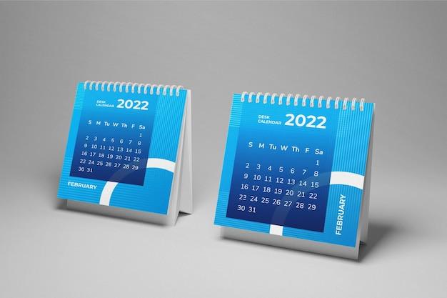 Modello di calendario da tavolo