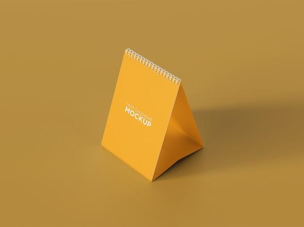 Design mockup calendario tenda scrivania
