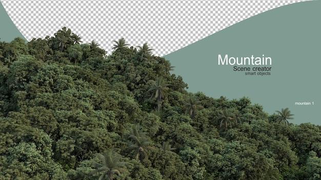 Diversi tipi di montagne