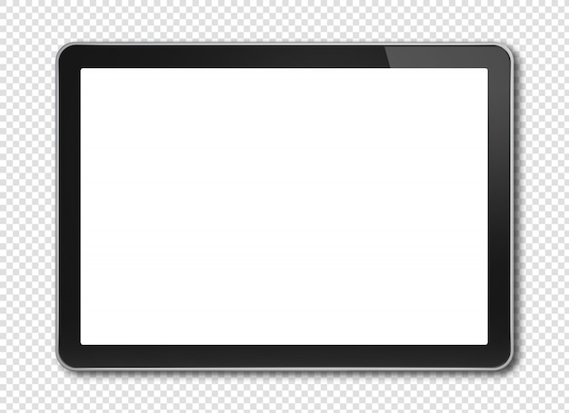 Tavoletta digitale con schermo mockup