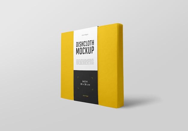 Design mockup di strofinaccio
