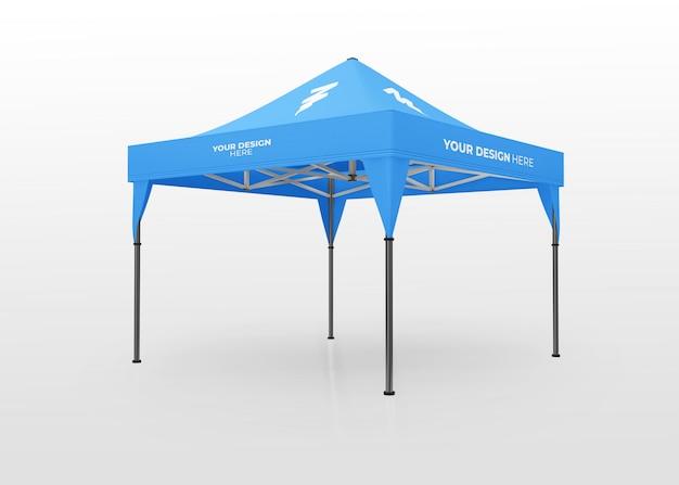 Mostra il modello di tenda