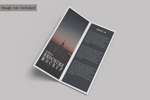 Modello di brochure pieghevole dl