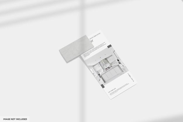 Design mockup cucina dl flyer