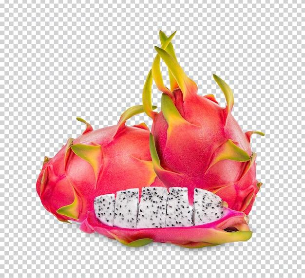 Frutti del drago isolati premium psd