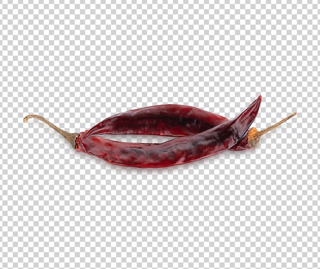 Peperoncino rosso essiccato o peperoncino di cayenna psd premium