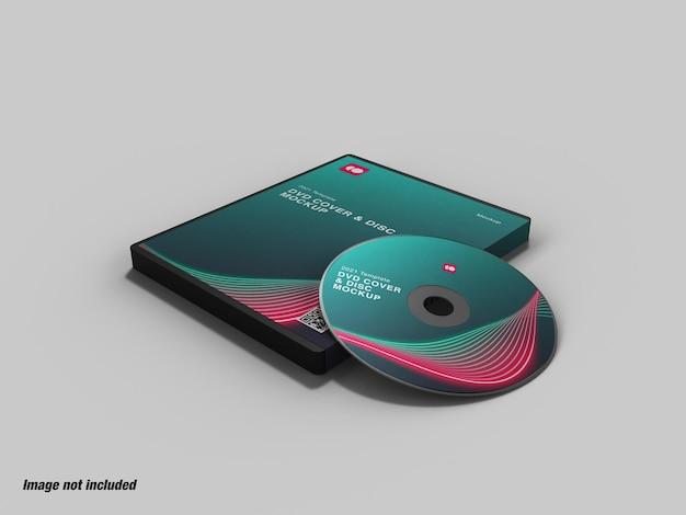 Custodia per dvd e mockup del disco