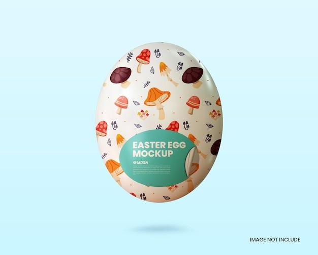 Mockup di uova di pasqua