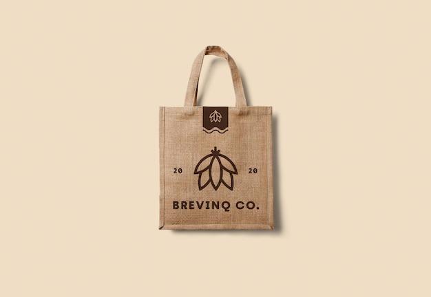 Eco bag mockup rendering isolato