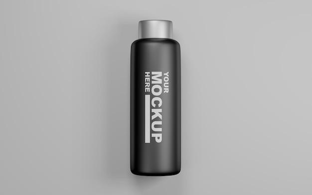 Modelli di mockup di bottiglia d'acqua realistici modificabili