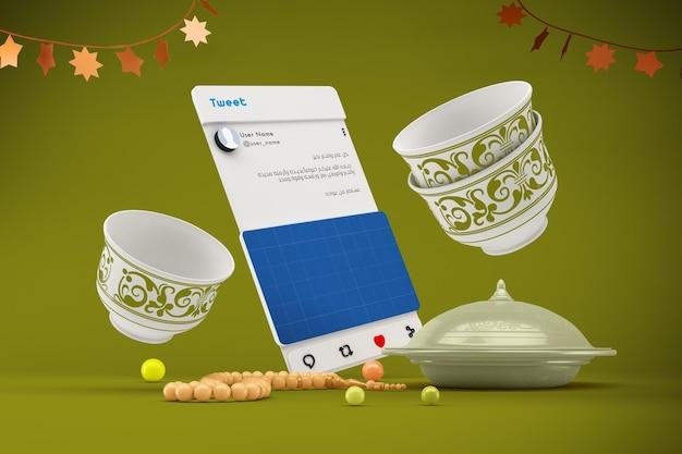 Eid social media v2 mockup