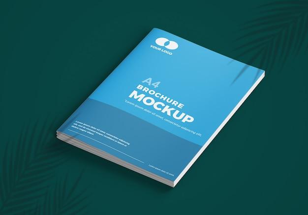 Elegante mockup di brochure