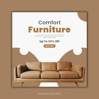 Design di modelli sociali di mobili eleganti