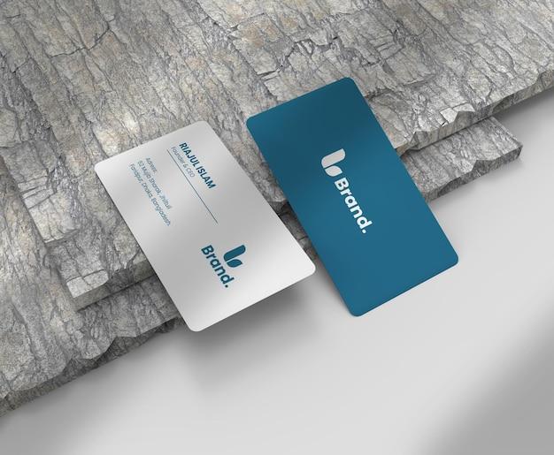 Modello di biglietto da visita elegante e moderno