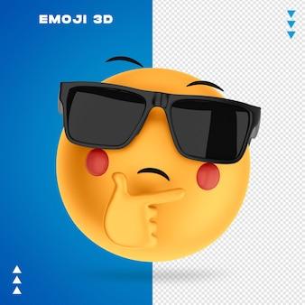 Rendering 3d emoji isolato Psd Premium