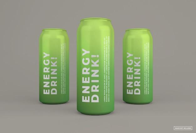 La bevanda energetica può simulare il design isolato