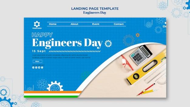 Pagina di destinazione del giorno degli ingegneri