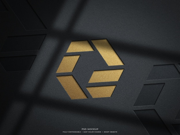 Design mockup logo inciso