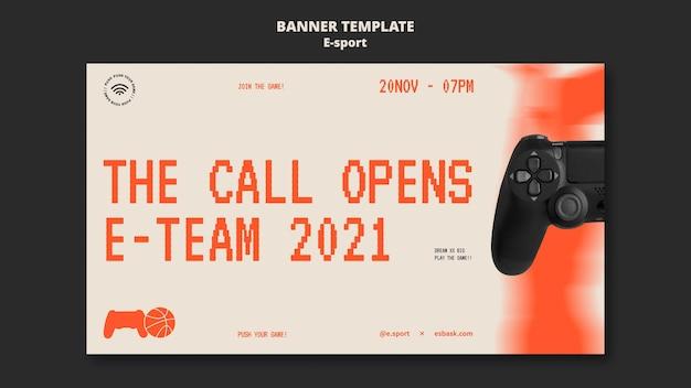 Design del modello di banner per l'esportazione
