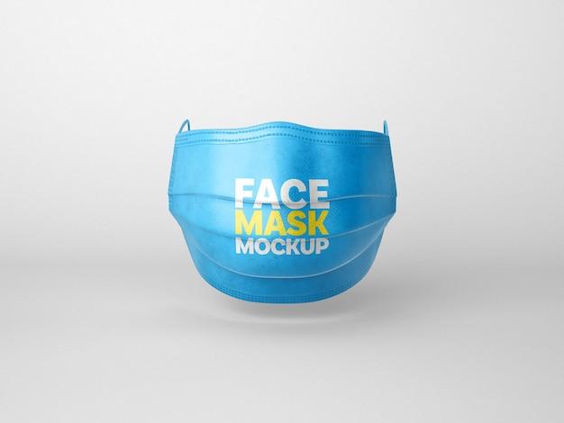 Maschera per il viso mockup