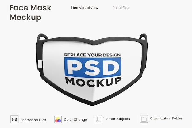 Mockup di maschera per il viso