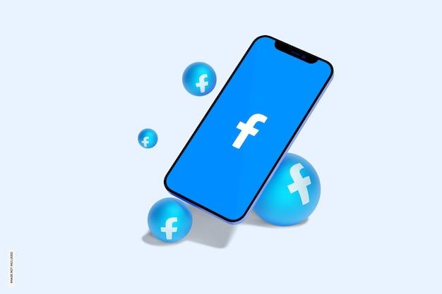 Facebook sul modello di cellulare