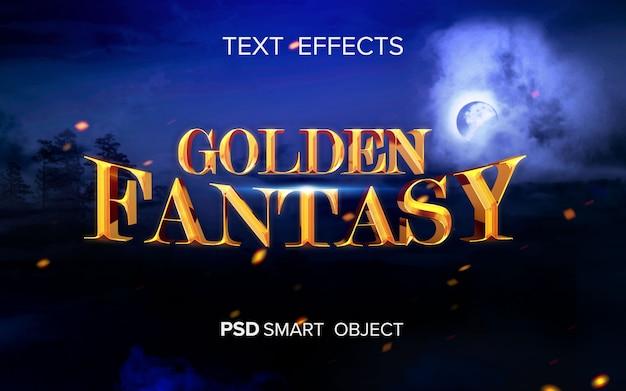 Effetto testo film fantasy