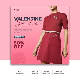 Fashion instagram social media valentine girl red