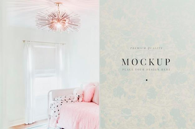 Interior design femminile del soggiorno