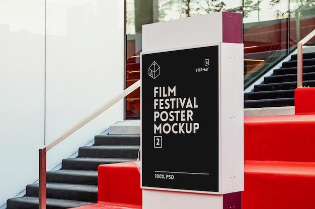Mock-up del manifesto del festival cinematografico