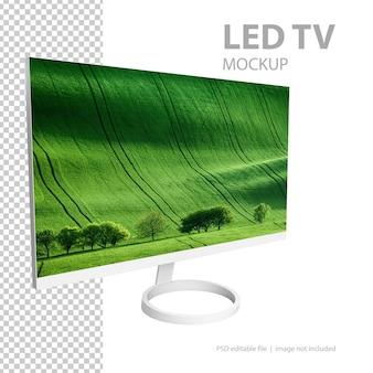 Mockup di tv a schermo piatto