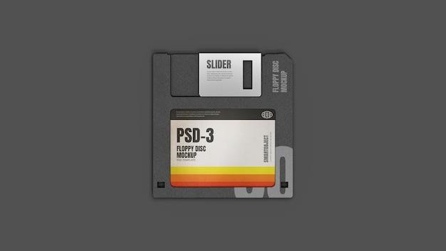 Mockup di floppy disk