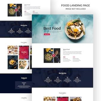 Modello di posta elettronica del festival alimentare
