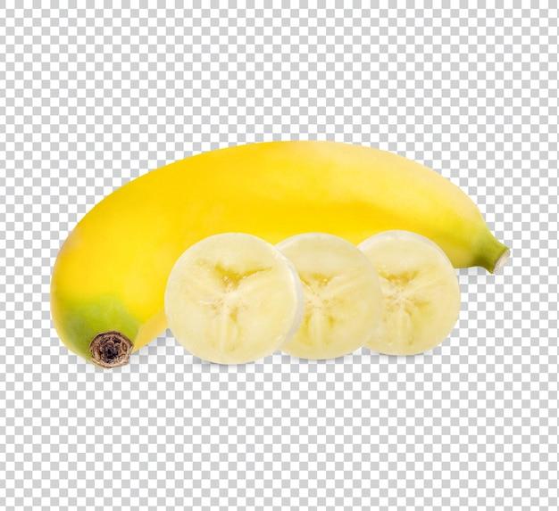 Banana fresca isolata psd premium
