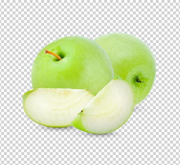 Mela verde fresca isolata