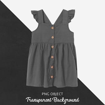 Vista frontale del mockup vestito grigio Psd Premium