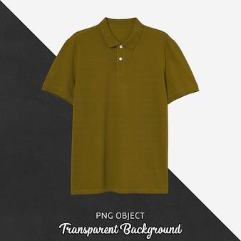 Vista frontale del mockup di maglietta polo