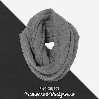 Vista frontale del mockup di sciarpa