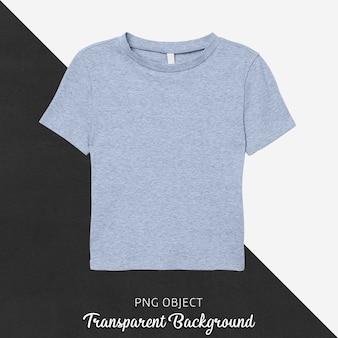 Vista frontale del mockup di t-shirt