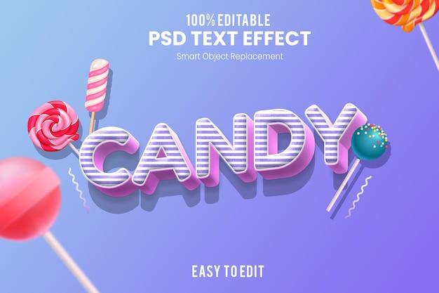 Divertente design effetto testo 3d