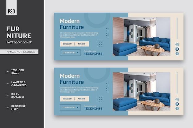 Copertina facebook di mobili