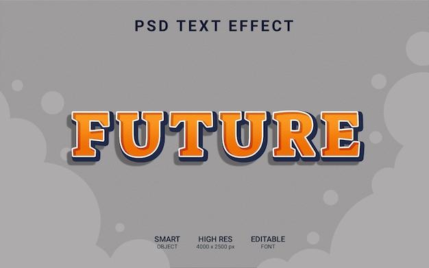 Effetto di testo futuro
