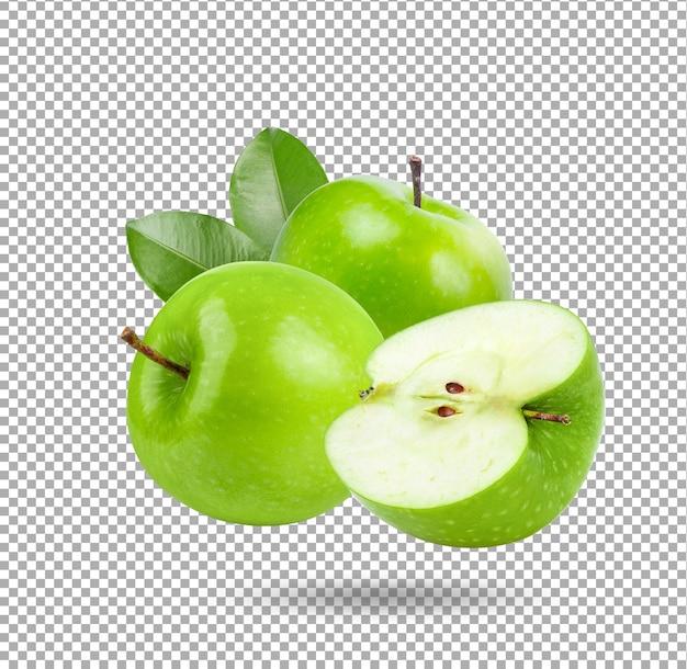 Geen apple illustrazione isolato