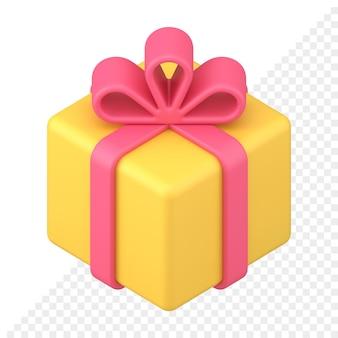 Confezione regalo icona 3d