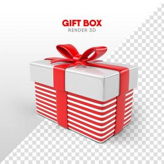 Confezione regalo con fiocco in formato cartone per composizioni natalizie